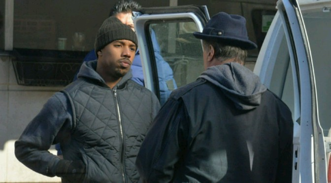 "Michael B. Jordan Gets KO'd For Real On The Set Of ""Creed"""
