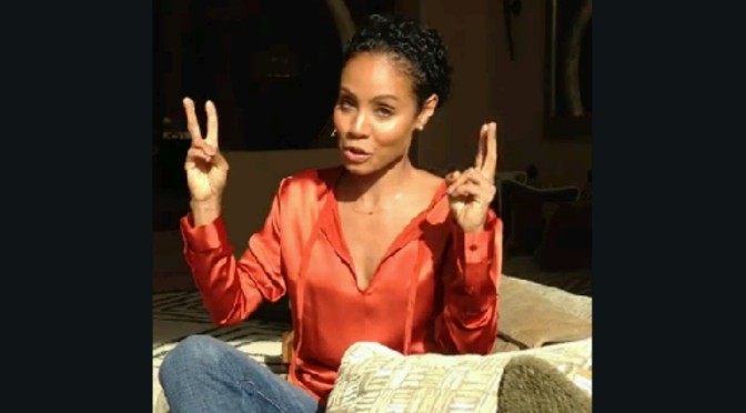 "Jada Pinkett Smith Says ""We Must Stand In Power"""