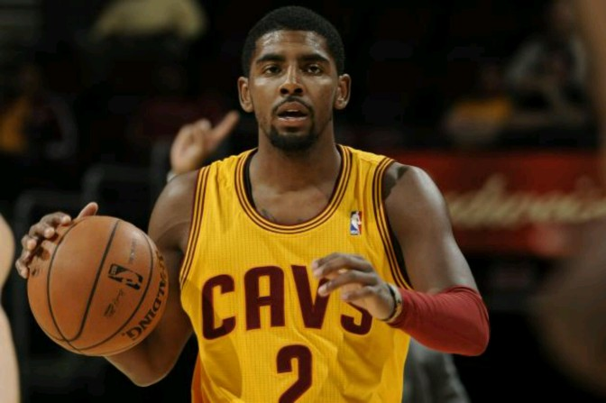 Kyrie Irving Throws Down Sick Windmill Slam