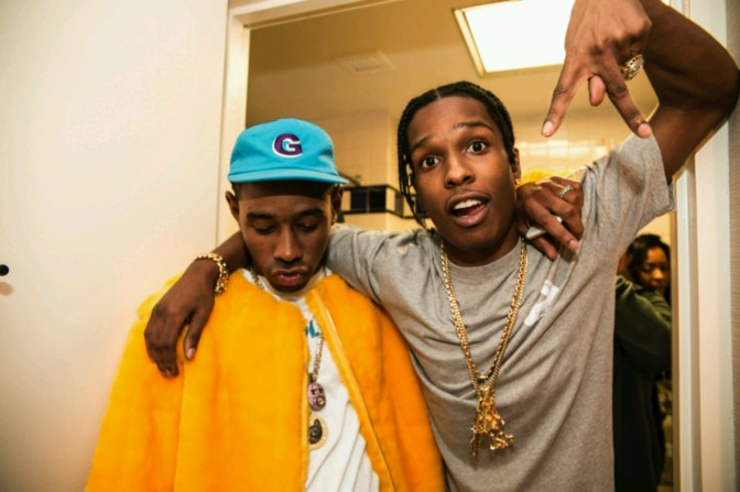 A$AP Rocky Impersonates Tyler, The Creator