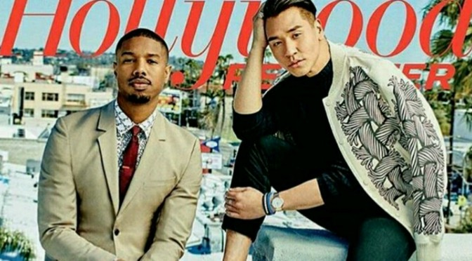 "Michael B. Jordan & Amy Schumer Cover The Hollywood Reporter's ""Stylist & Stars"" Issue"