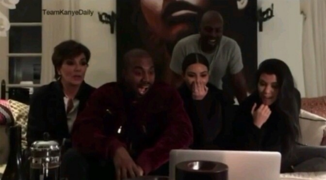"""Sacha Baron Cohen Played """"The Brothers Grimsby"""" For Kanye, Kim & Entire Family"""