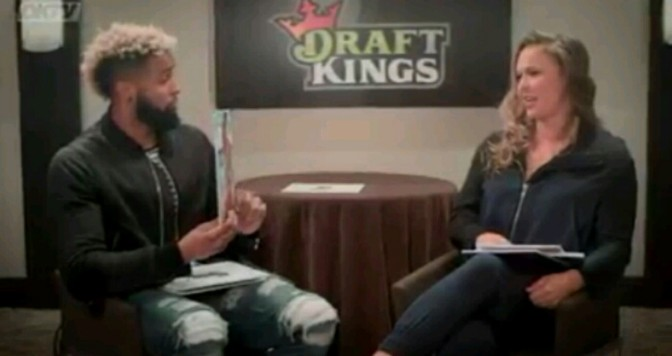 Ronda Rousey & Odell Beckham Jr Interview Each Other