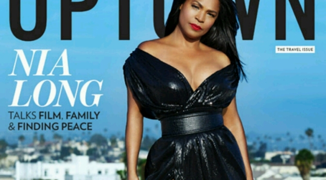 Nia Long Covers UPTOWN Magazine
