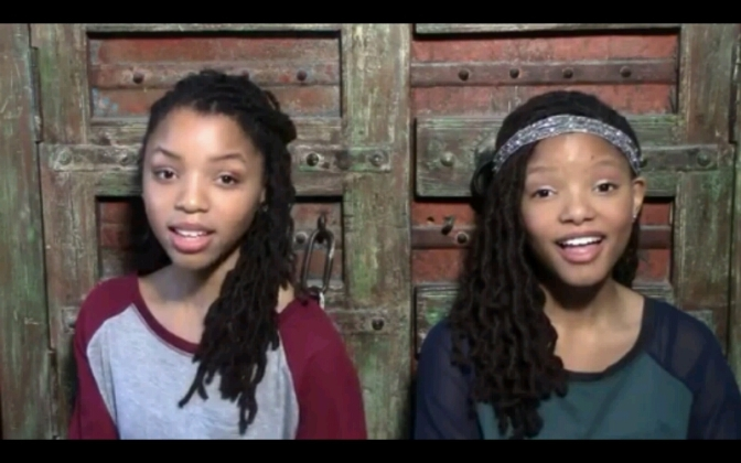 "Chloe & Halle Cover Their Label Boss Beyonce's ""Pretty Hurts"""