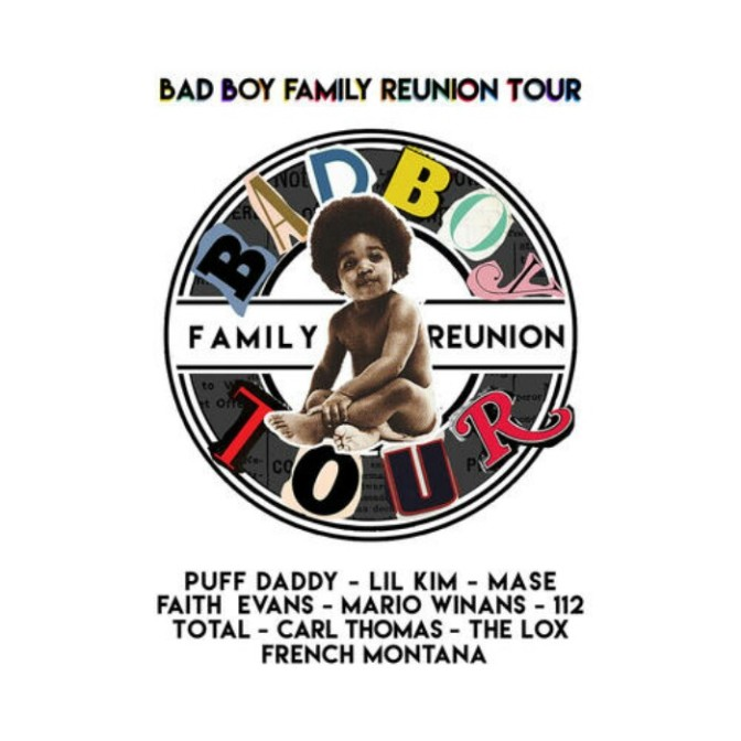"""Inside Rehearsals For The """"Bad Boy Family Reunion"""" Tour"""