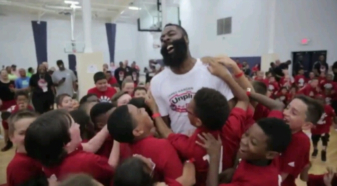 James Harden Fakes The Life Out Of This Kid