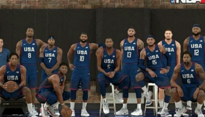 The 2016 USA Basketball Team Will Be In NBA 2K17