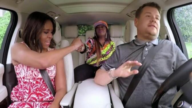 Carpool Karaoke with Michelle Obama & Missy Elliott