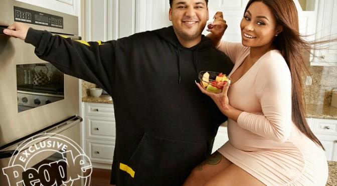 Rob Kardashian & Blac Chyna Cover People Magazine