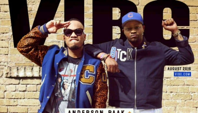 Anderson .Paak & BJ The Chicago Kid Cover VIBE