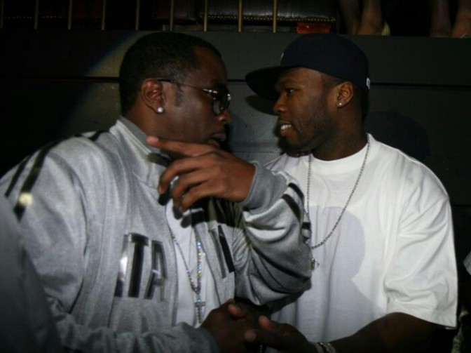 DJ Accidentally Plays Diddy Remix While 50 Cent Performed; Awkward