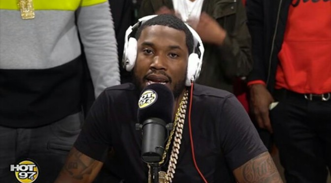 (Video) Meek Mill Freestyles on Funk Flex
