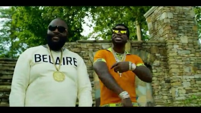 "(Video) Gucci Mane Feat. Rick Ross ""Money Machine"""