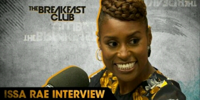 Issa Rae Visits The Breakfast Club