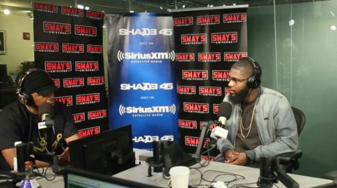 Big K.R.I.T. On Sway in the Morning