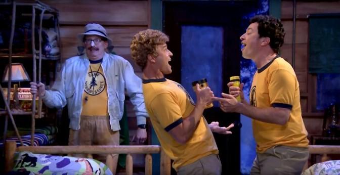 "Jimmy Fallon & Justin Timberlake Sing Alanis Morissette's Classic ""Ironic"""
