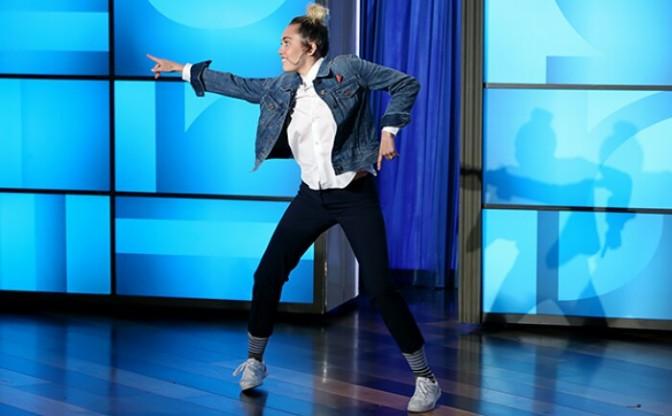 Miley Cyrus Hosts The Ellen Show