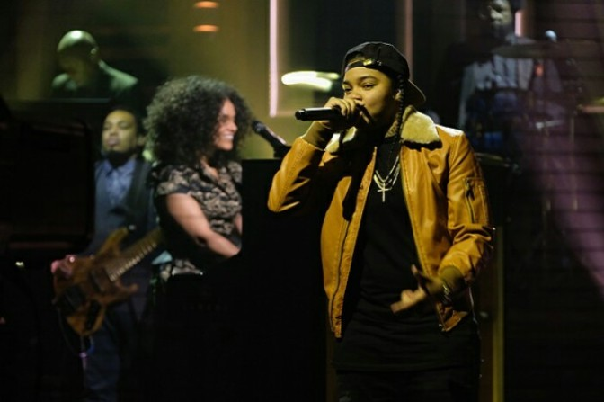 """Alicia Keys Brought Out Young M.A on """"The Tonight Show"""""""