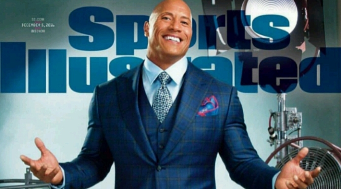 The Rock Covers Sports Illustrated