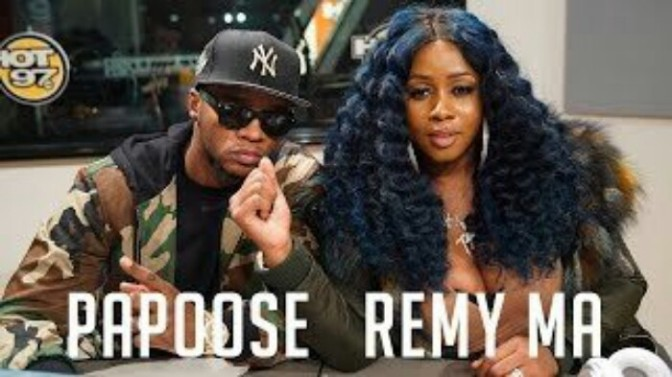 Remy Ma & Papoose Freestyle on Flex