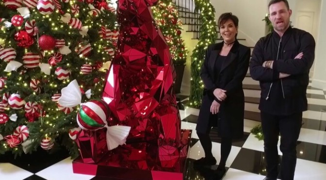 Kris Jenner Taking Christmas Decorating To Another Level