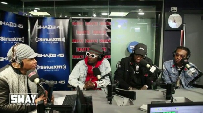 Migos On Sway in the Morning