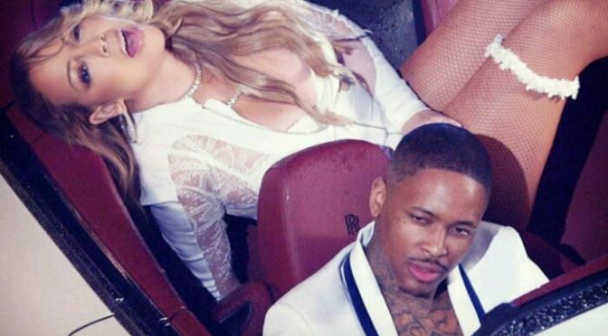 "(Artwork) Mariah Carey Feat. YG ""I Don't"""