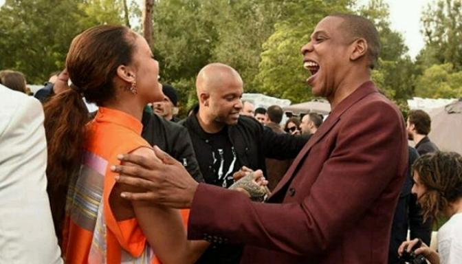 Jay Z, Rihanna, Diddy, T.I. & More Attend Roc Nation Pre-Grammy Party