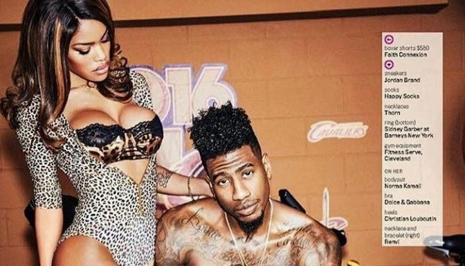 Peachy Teyana Taylor Iman Shumpert For Gq Butisitnew Hairstyles For Women Draintrainus
