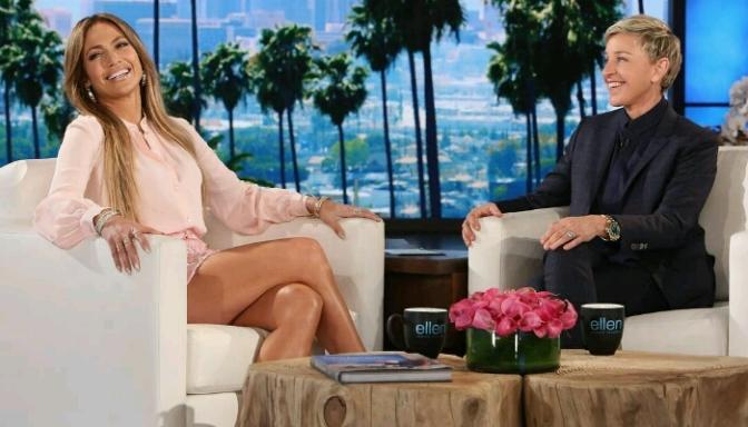 Jennifer Lopez on The Ellen Show