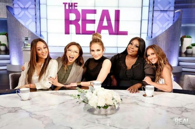 """Jennifer Lopez On """"The Real"""""""
