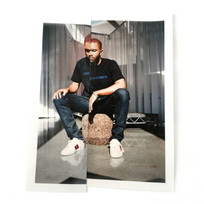 "Frank Ocean Feat. A$AP Rocky ""Chanel (Remix)"""