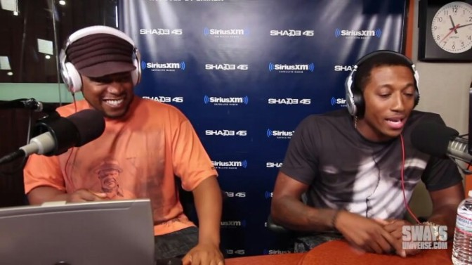 Lecrae on Sway In The Morning