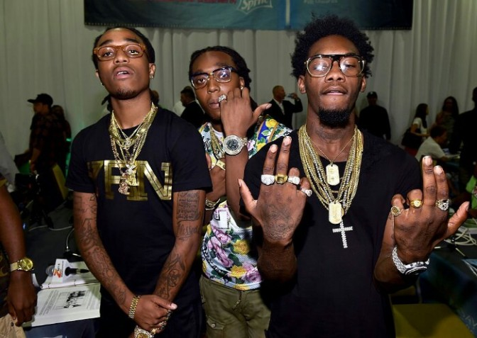 """Migos Perform """"Bad And Boujee"""" with Lil Uzi Vert For Boiler Room"""