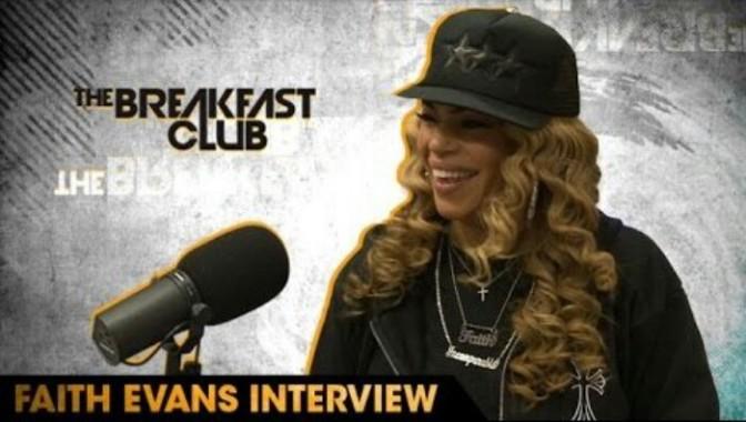 Faith Evans on The Breakfast Club