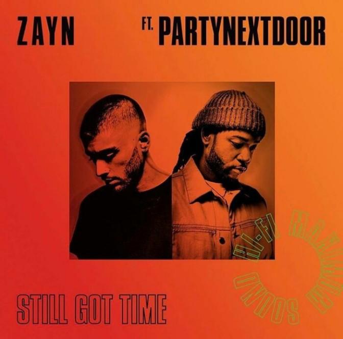 "(Artwork) Zayn Feat. PARTYNEXTDOOR ""Still Got Time"""