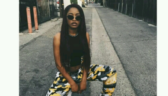 "Keke Palmer Dancing To PnB Rock's ""Playa No More"""