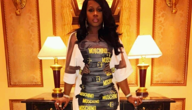 Remy Ma Slaying In Moschino