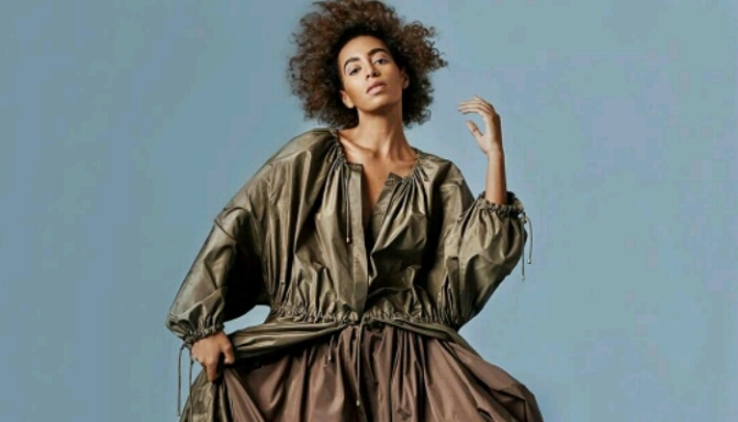 Solange Covers BUST Magazine