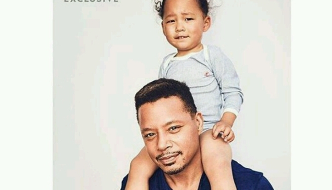 Terrence Howard & His Son For PEOPLE Mag