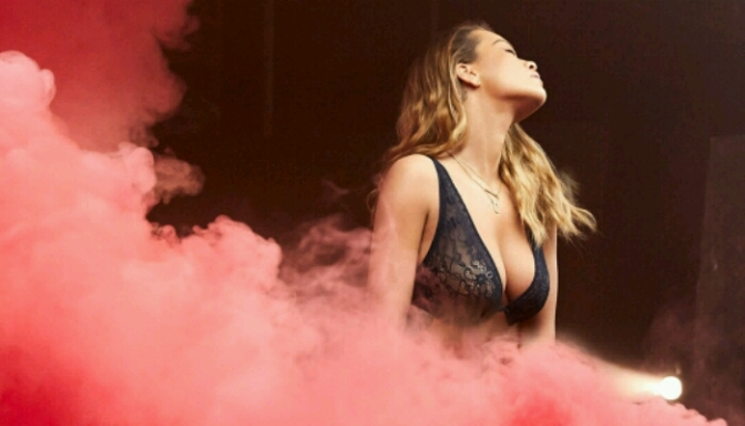 Rita Ora Teases Her Steamy Collection With Tezenis