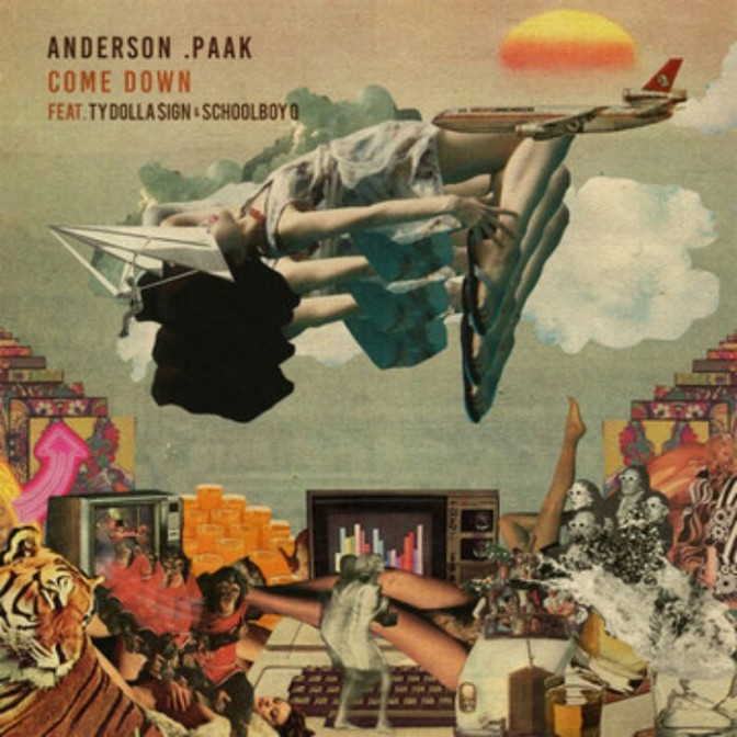 """Anderson .Paak Feat. ScHoolboy Q & Ty Dolla $ign """"Come Down (Remix)"""""""