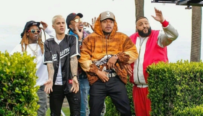 "(Video) DJ Khaled Feat. Justin Bieber, Quavo, Chance the Rapper & Lil Wayne ""I'm The One"""