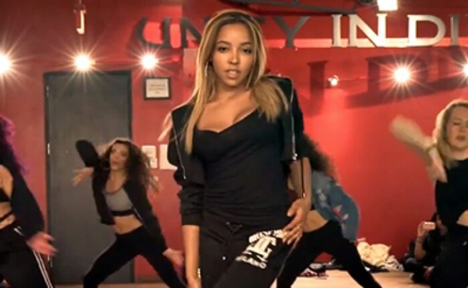 """Tinashe Performs """"Flame"""" with Dance Class"""
