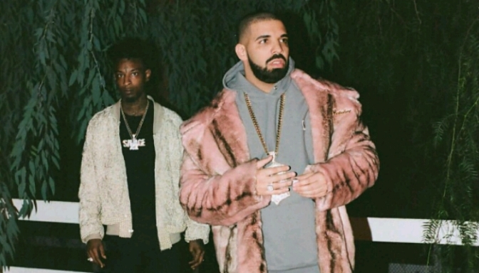 21 Savage Brought Out Drake In LA
