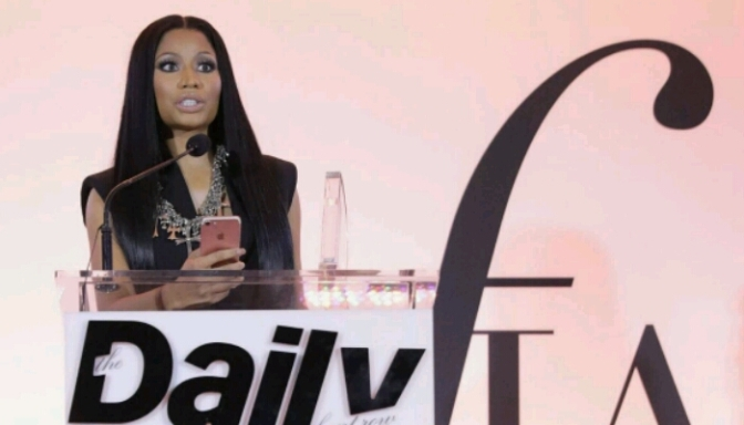 "Nicki Minaj Named ""Fashion Rebel"" at Fashion LA Awards"