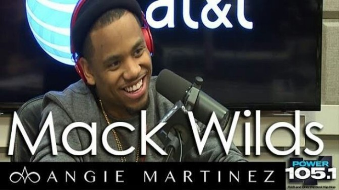 Mack Wilds Sits Down with Angie Martinez
