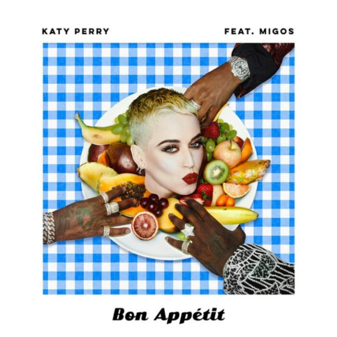 """(Artwork) Katy Perry Feat. Migos """"Bon Appétit"""""""