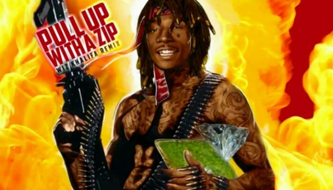 "Wiz Khalifa ""Pull Up Wit Ah Zip"""